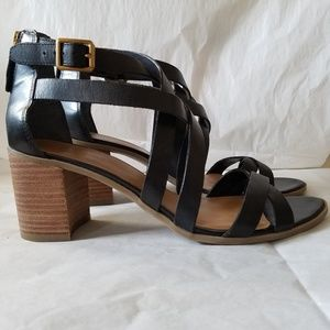 Franco Sarto Strappy Leather Sandals